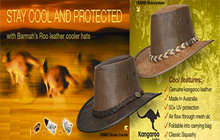 aussie hats kangaroo coolers and drovers